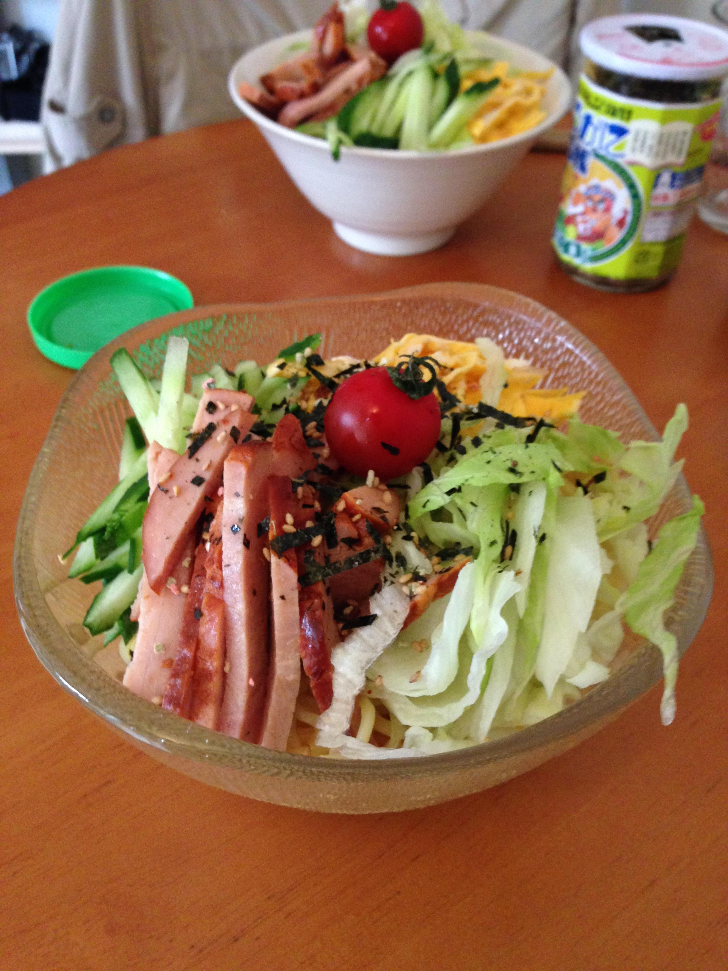 Optional last step: eat reimen 「冷麺」!
