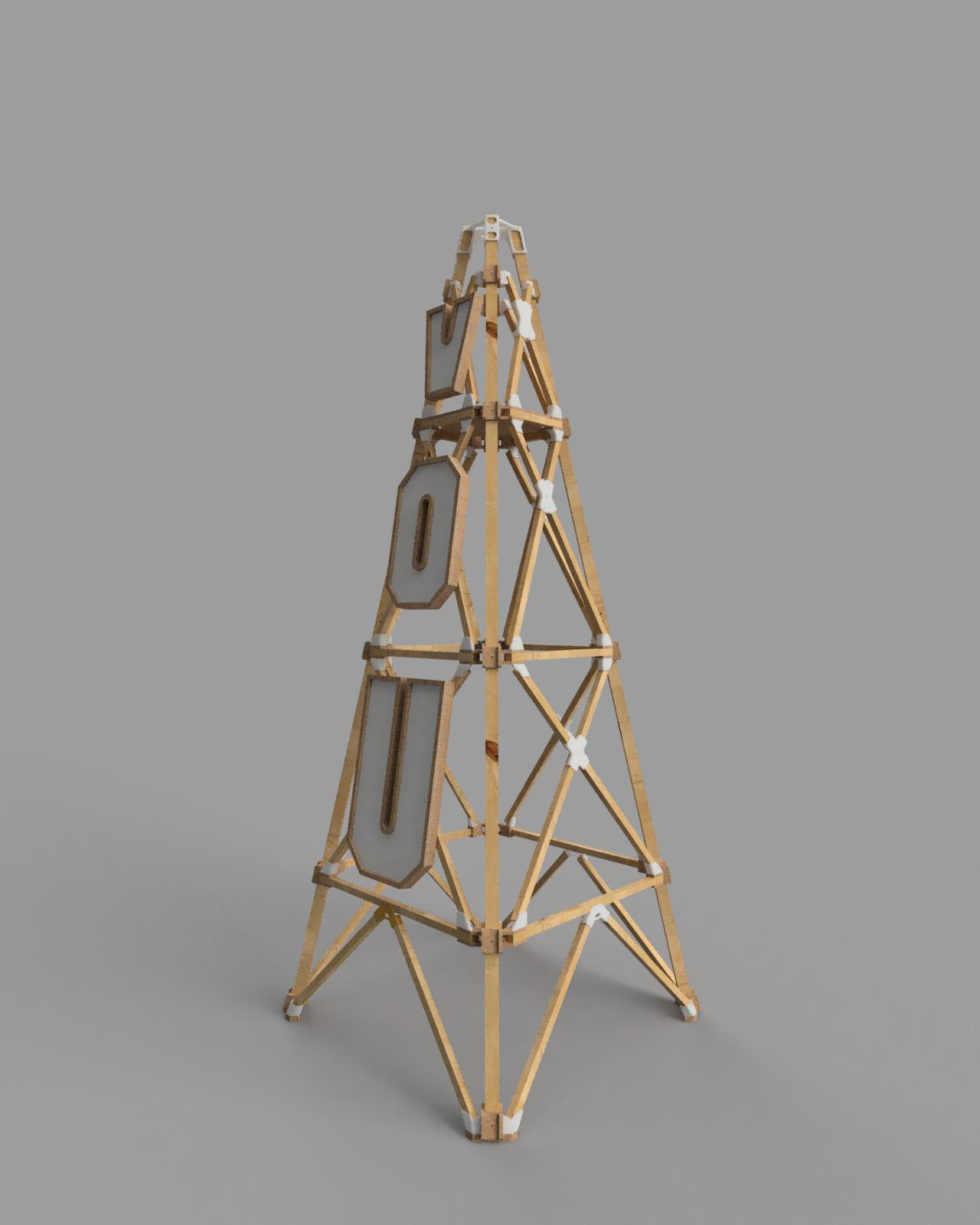 A render image of the tower design.