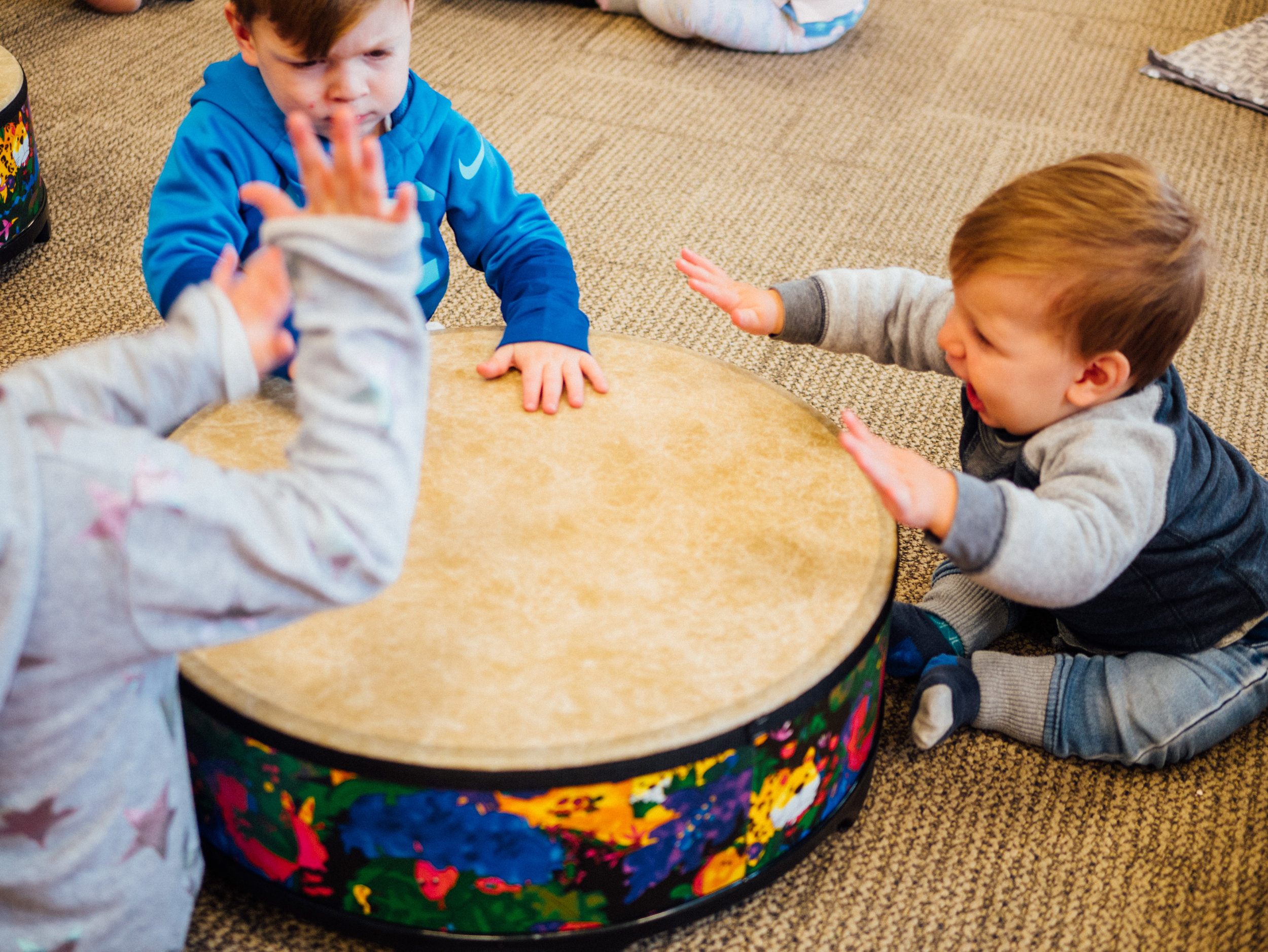 Children'sClasses - Together we can change the world for the better, one child at a time. Respectfully nurturing their creativity, filling children's bodies, minds and hearts with music.Sounds Like This Frankston based family classes and quality incursions for kindergartens and daycares.