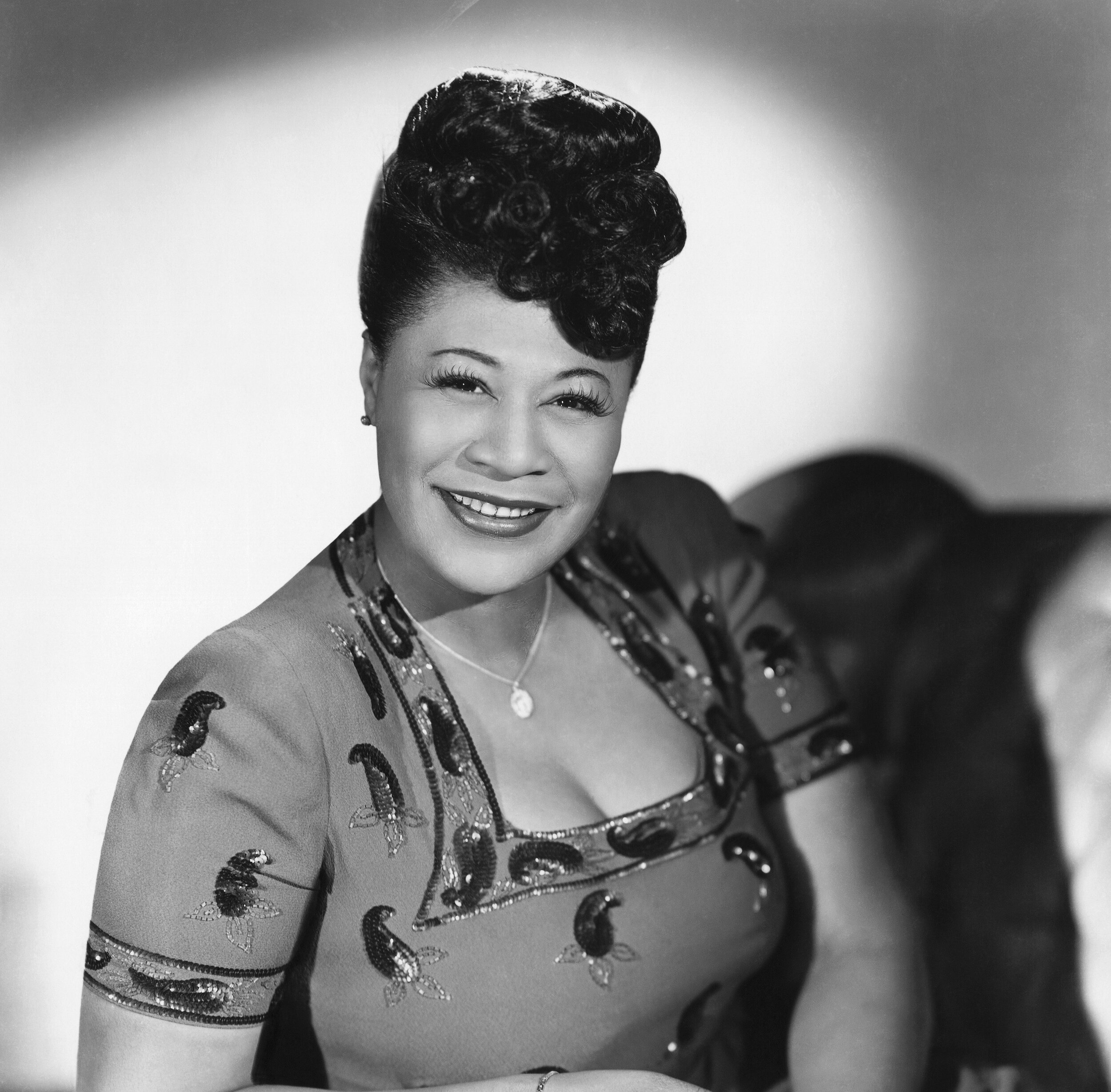 Ella Fitzgerald (1917 – 1996). If you're not familiar with this magnificent woman's music you've been missing out. Look her up and fill your ears and heart with song.