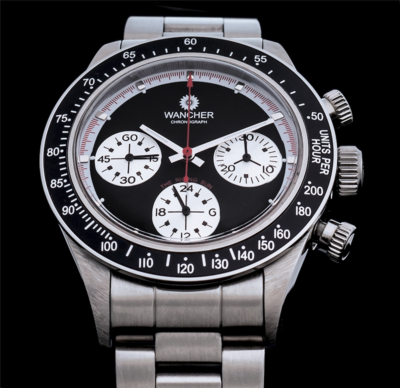 CHRONOGRAPH - Nowadays, the Chronograph function is known as one of the most popular and frequently usable features found on a wrist watch. In laymen's terms, the Chronograph is just a fancy word, which represents a stopwatch or timer.A basic chronograph watch has an independent sweep second hand, which can be started, stopped, and returned to zero by utilizing those push buttons. While some watches can only record up to thirty minutes at a time, others can count as long as 12 hours.The fact is that a chronograph has its obvious uses for pilots and astronauts, but what many people don't offer realize is that for the rest of us, it possesses a number of real world functions we can use each and every single day.