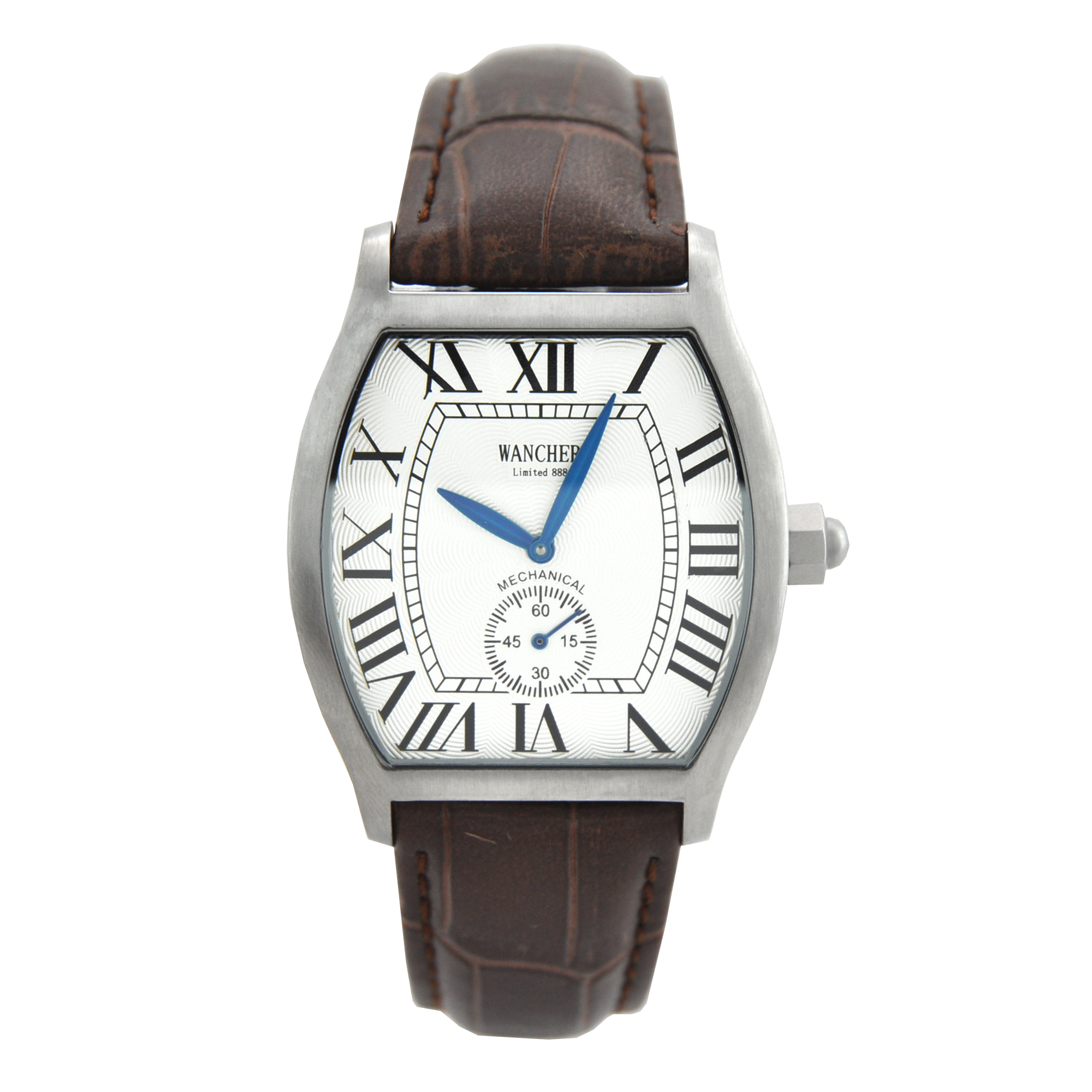 Tonneau Shaped - As you might know, the tonneau shaped watches became extremely popular in the early 1900. Until now, the popularity of this shape is still expanding all over the world. And if you are looking for a classic occasion watch, this product is for you.