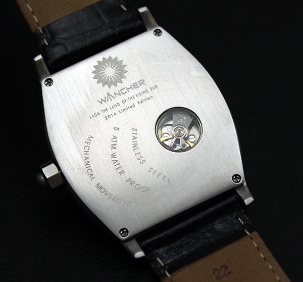 316L Solid Stainless Steel - The case is finished with 316L Stainless Steel, the same steel used in surgical equipment production that's extremely resistant to corrosion. Every Wancher watch undergoes Japanese quality control standards before it reaches you. Your Wancher timepiece is simply unbreakable.