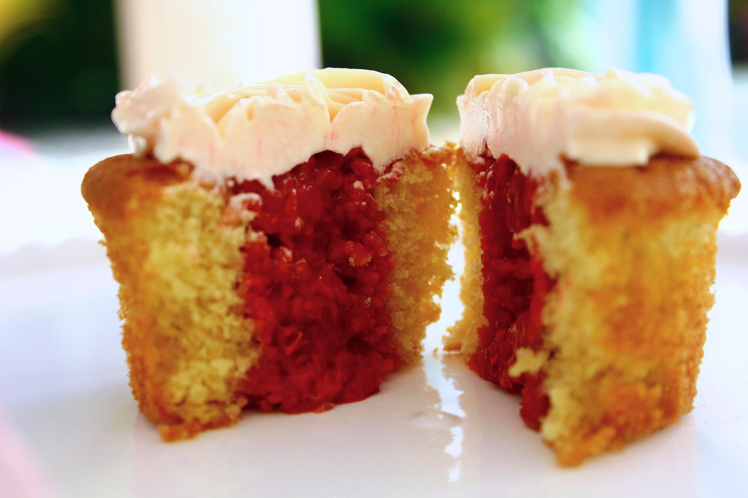 Cupcake fourrée