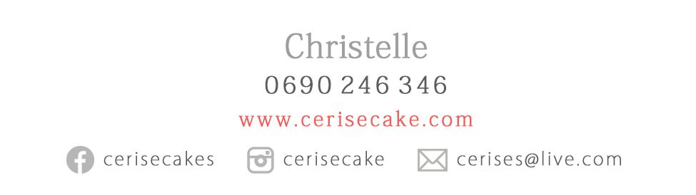 contact cerise cake