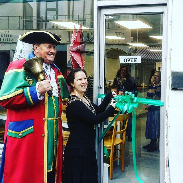 Officially opened by the mayor and town crier #teamtroll #thetrollrun #teamtreehouse #TGTH