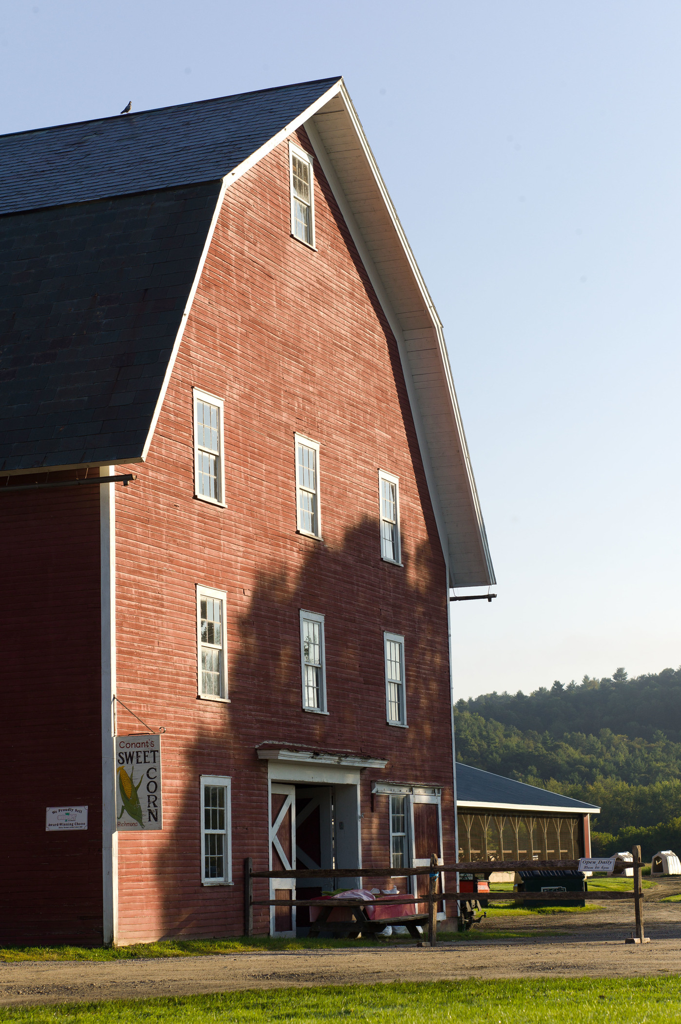 The old barn will celebrate its 100th birthday in Aug. 2015