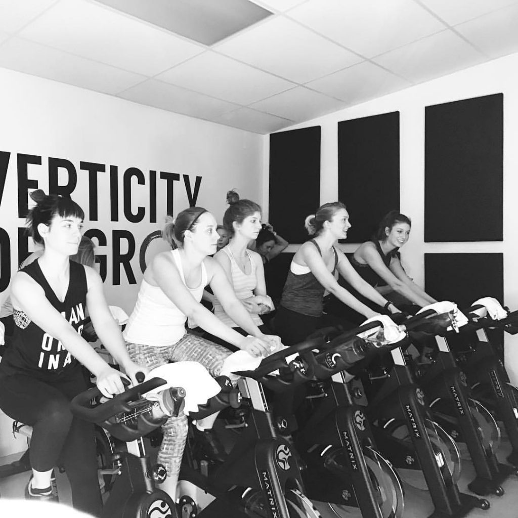 Verticity Indoor Cycling Studio  1006 Fatherland, #208  Photo Cred ||  Verticity Instagram