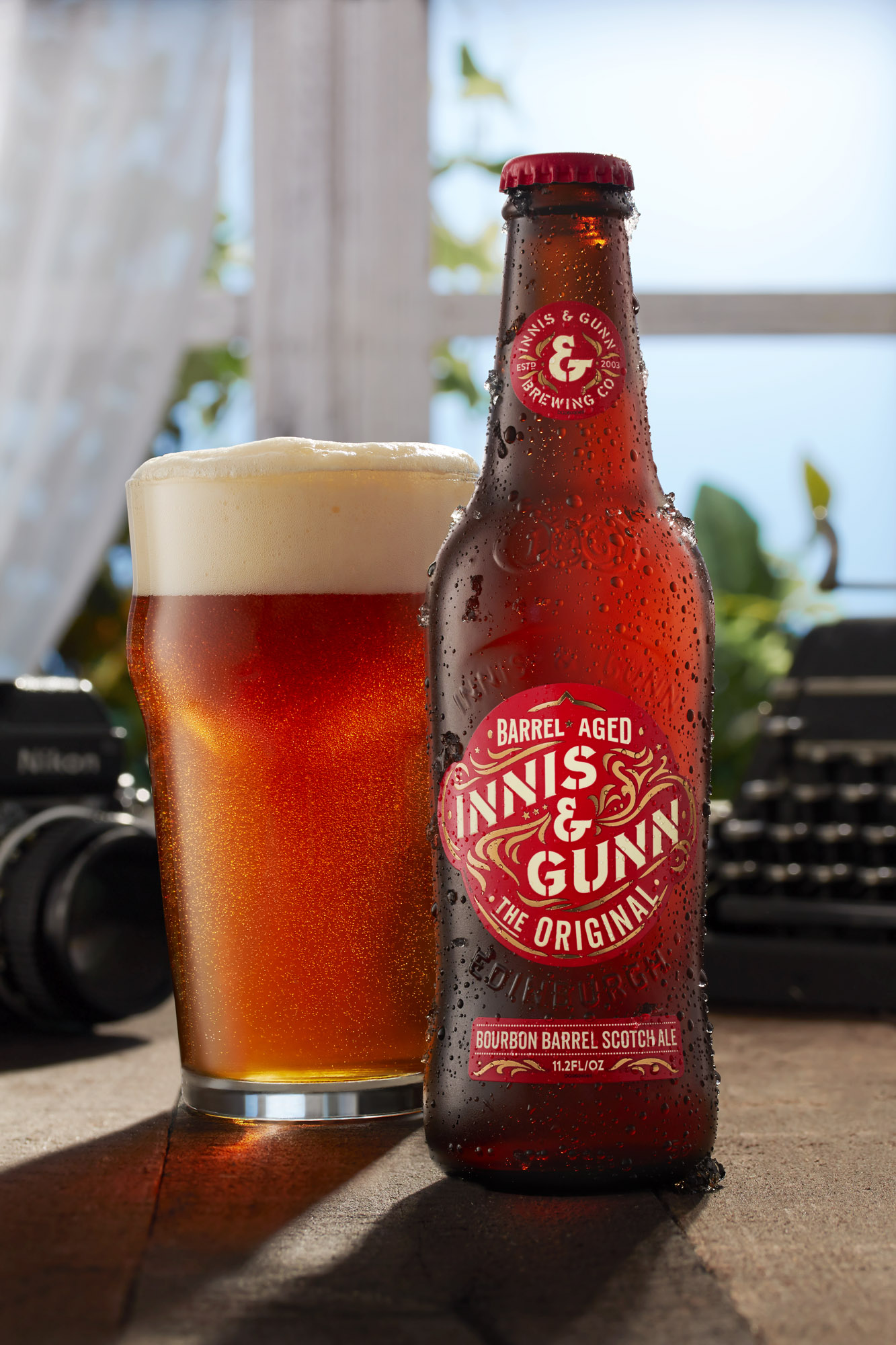 Fielder Williams Strain fiwist photography Nashville Product Photographer sunny window innis gunn beer.jpg