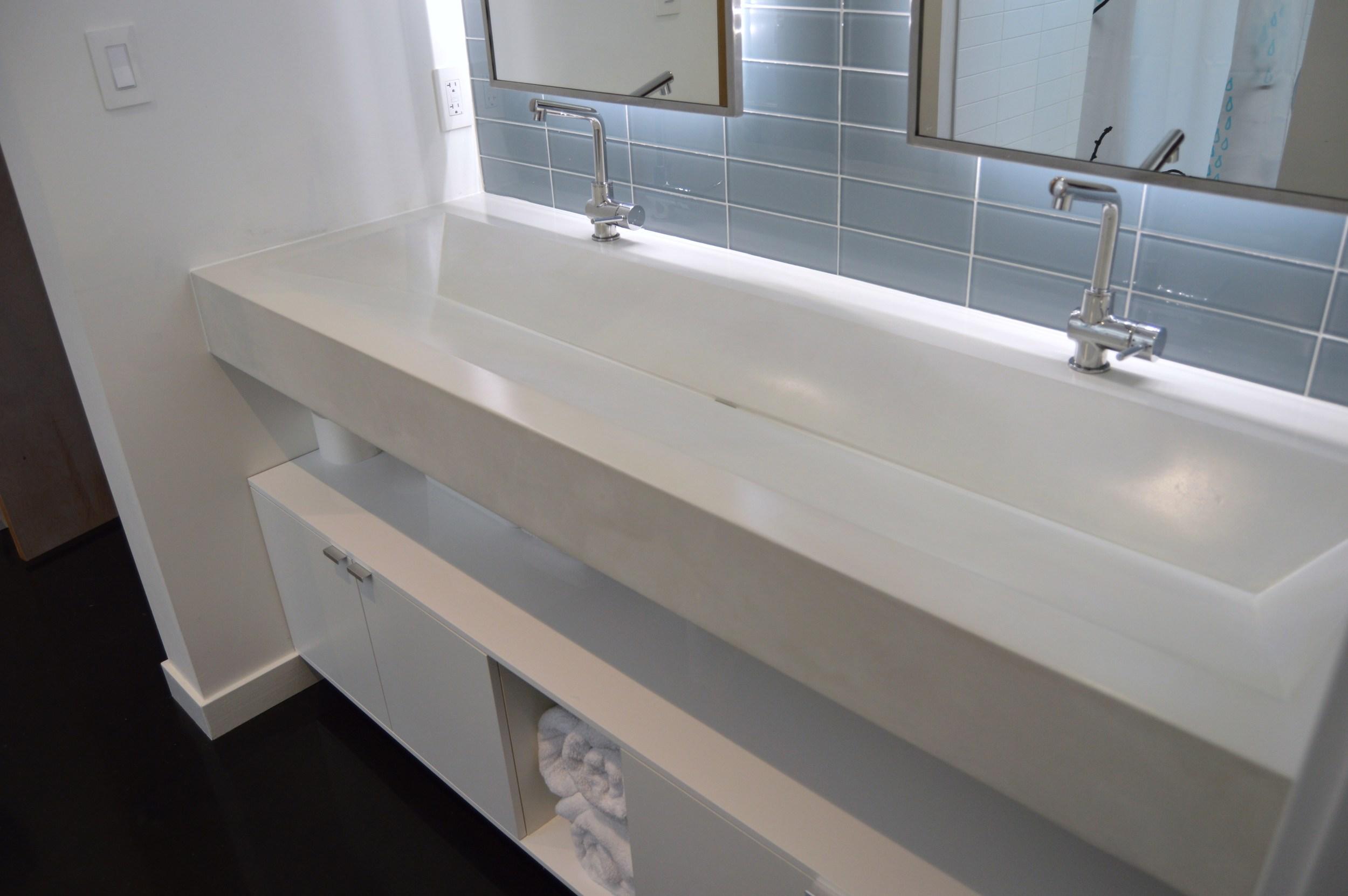 Modified Concrete Ramp Sink