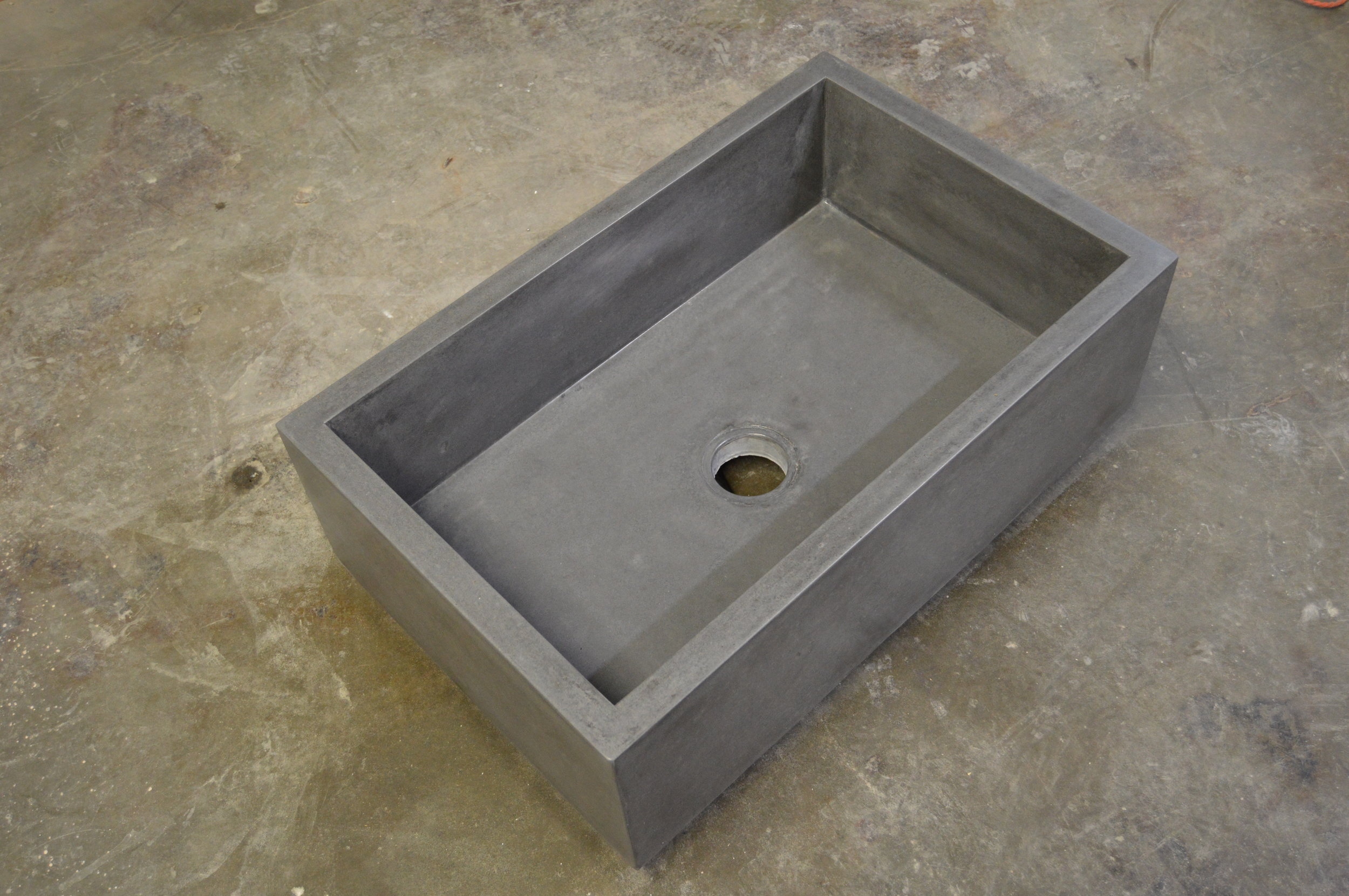 Concrete Farm Sink