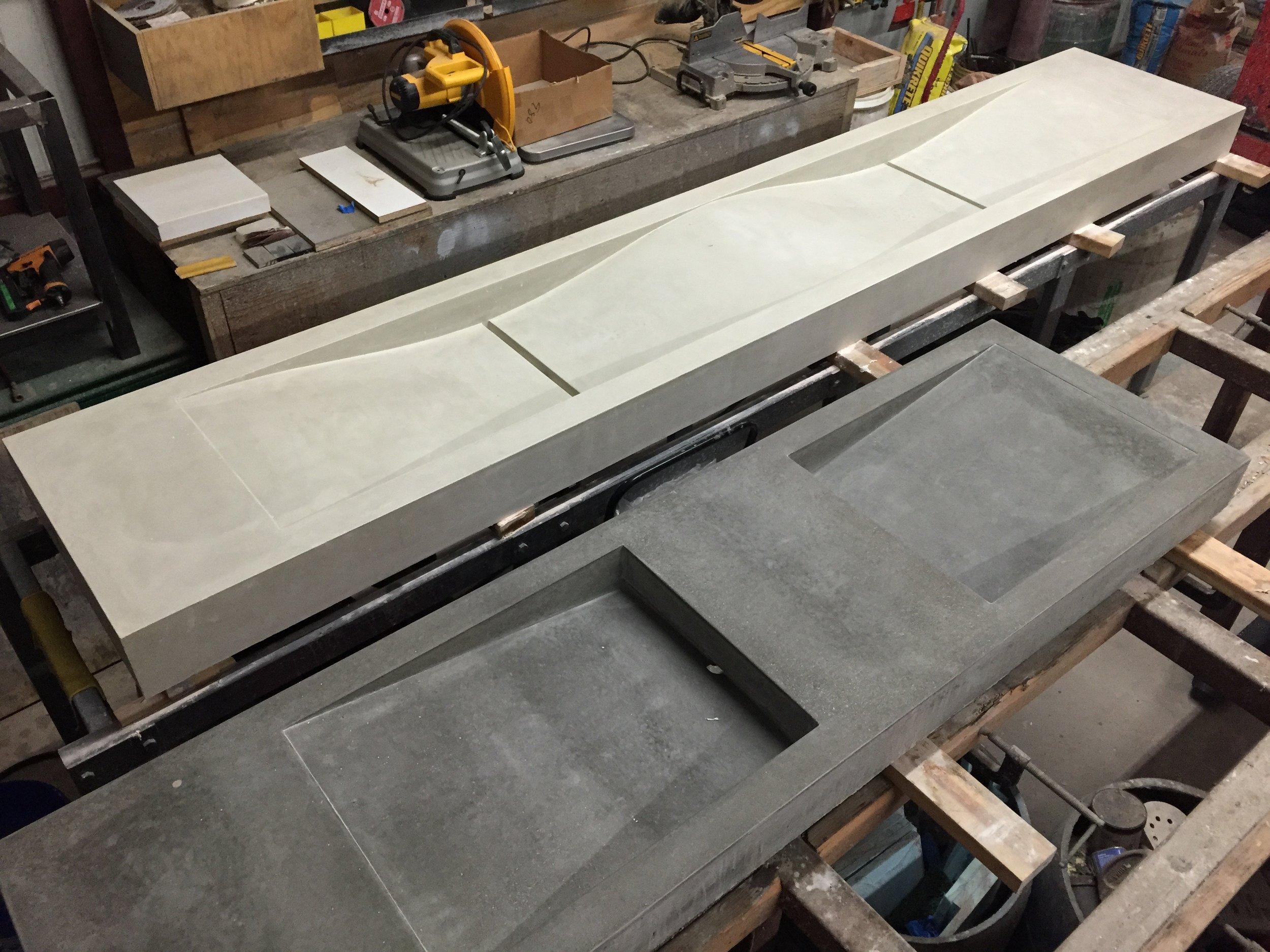 Monolithic Concrete Sinks