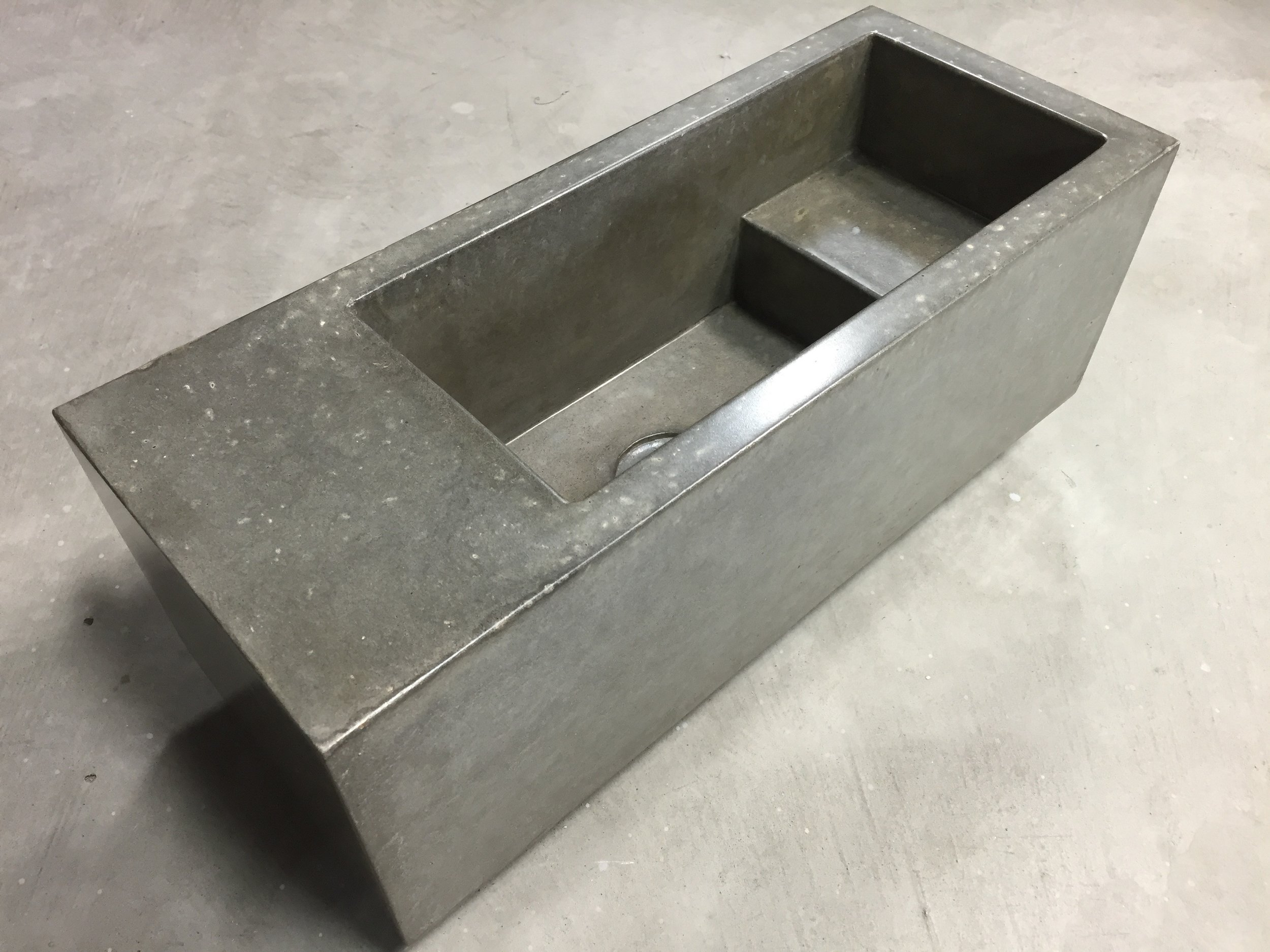 Mini Concrete Wall Sink