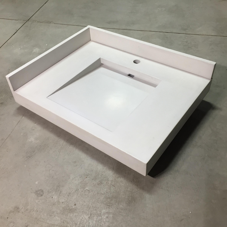Concrete Ramp Sink and Splash