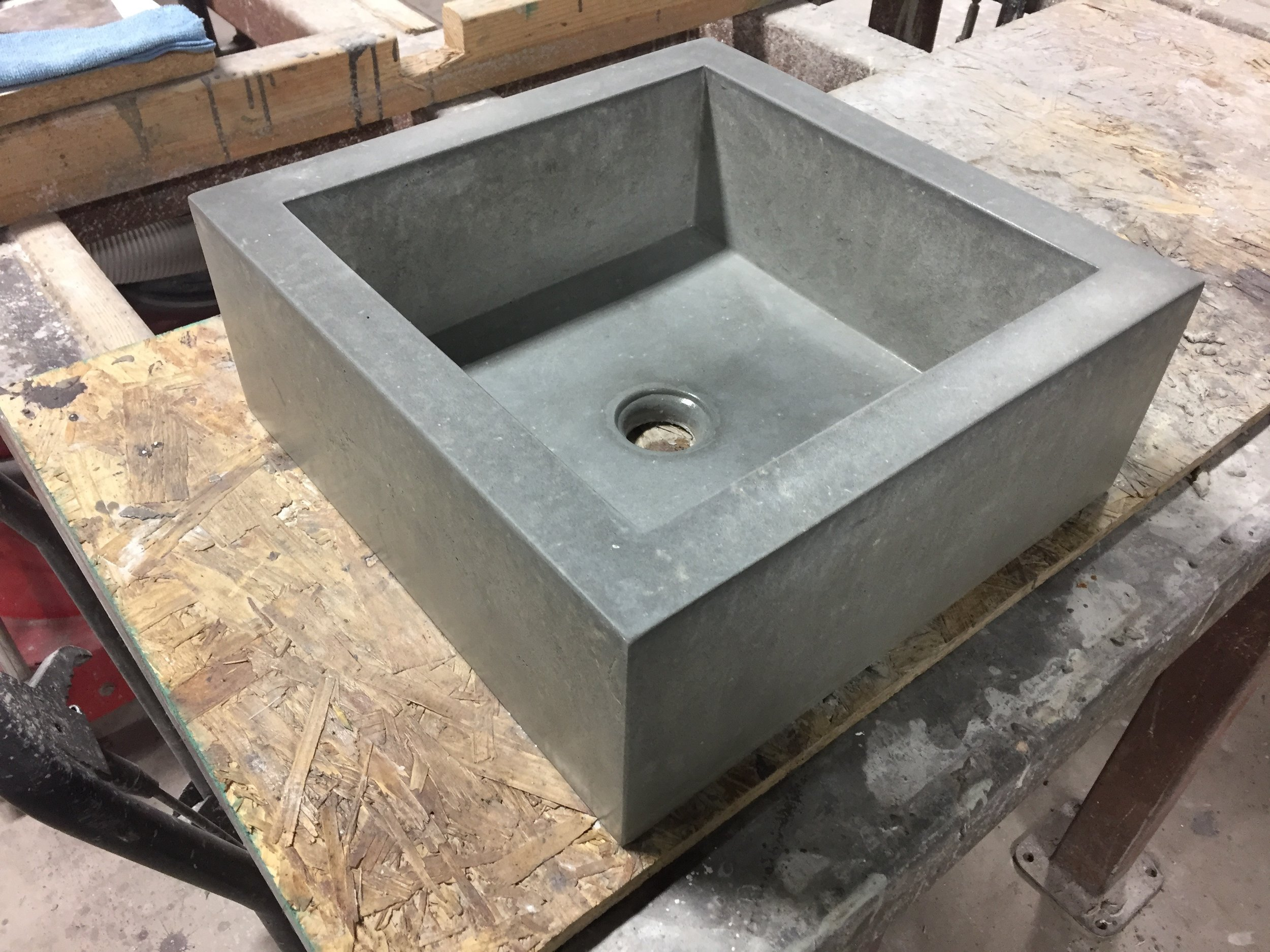 Mini Concrete Trough Sink