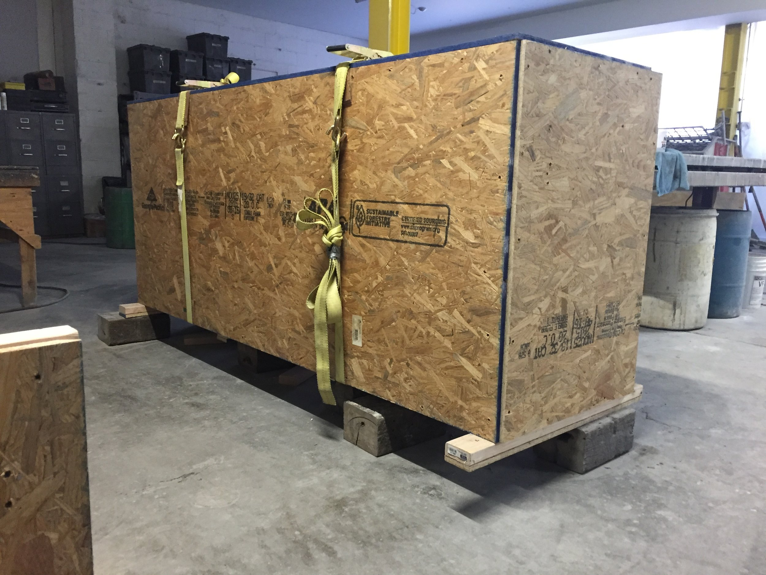 Concrete Slab Crate
