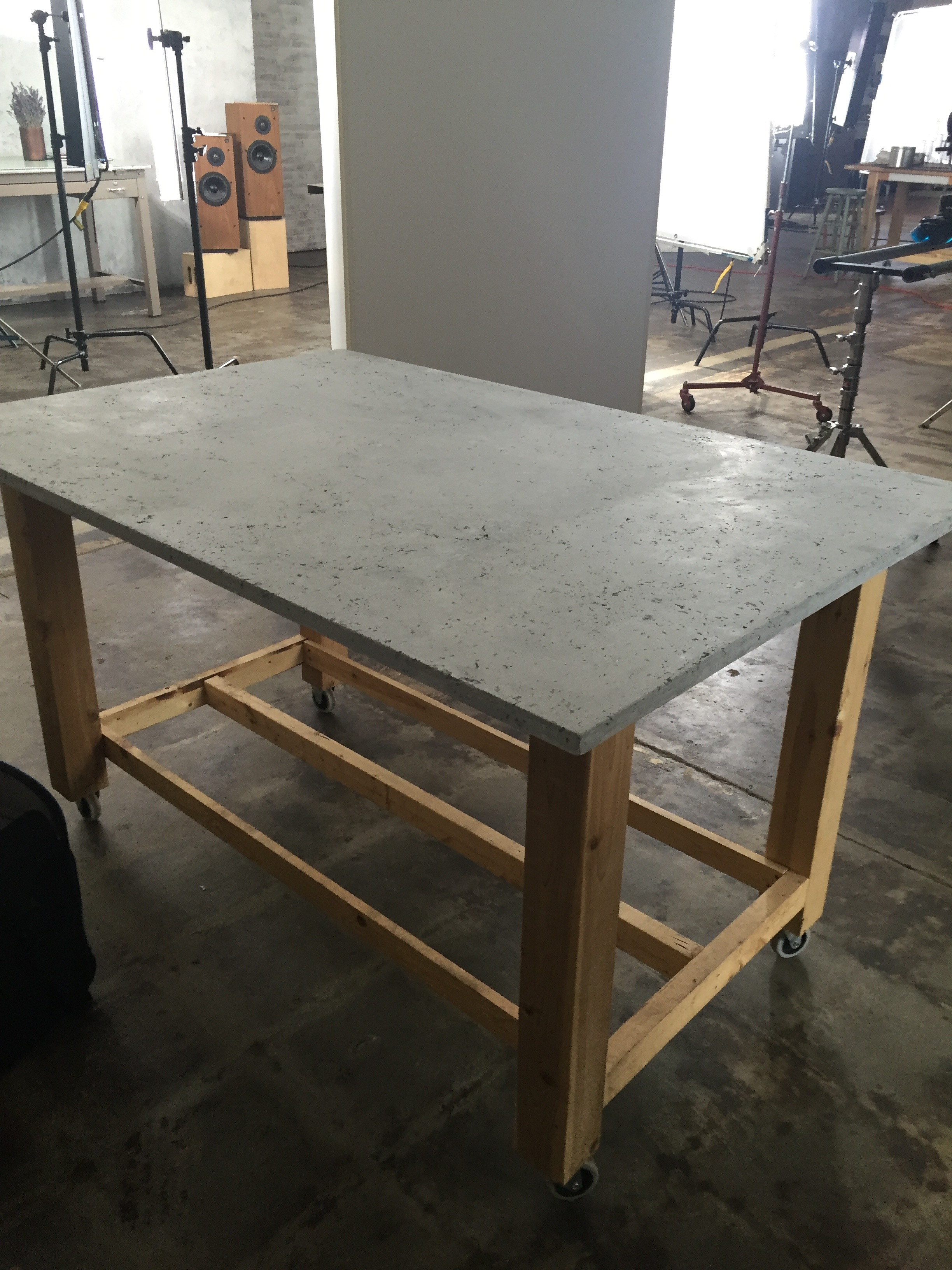 Textured Concrete Tabletop