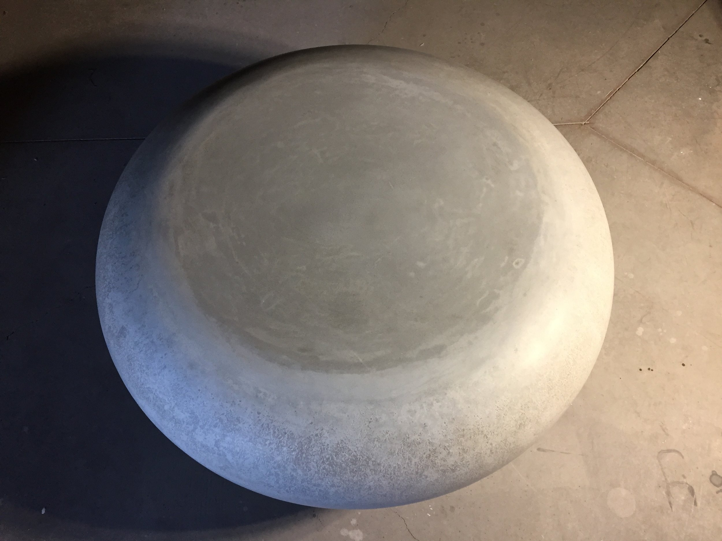 Contoured Concrete Coffee Table
