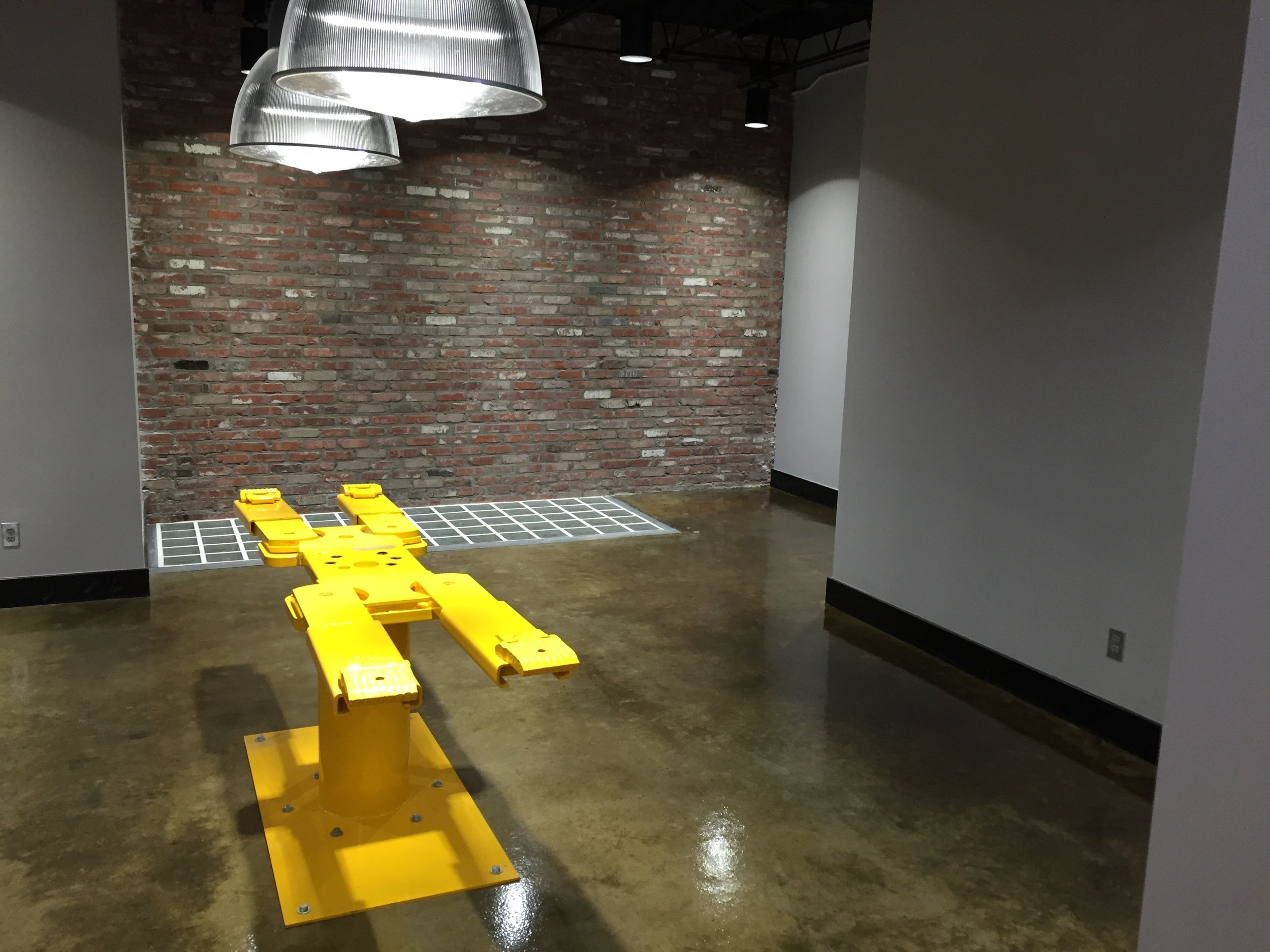 Honed and Sealed Concrete Floor