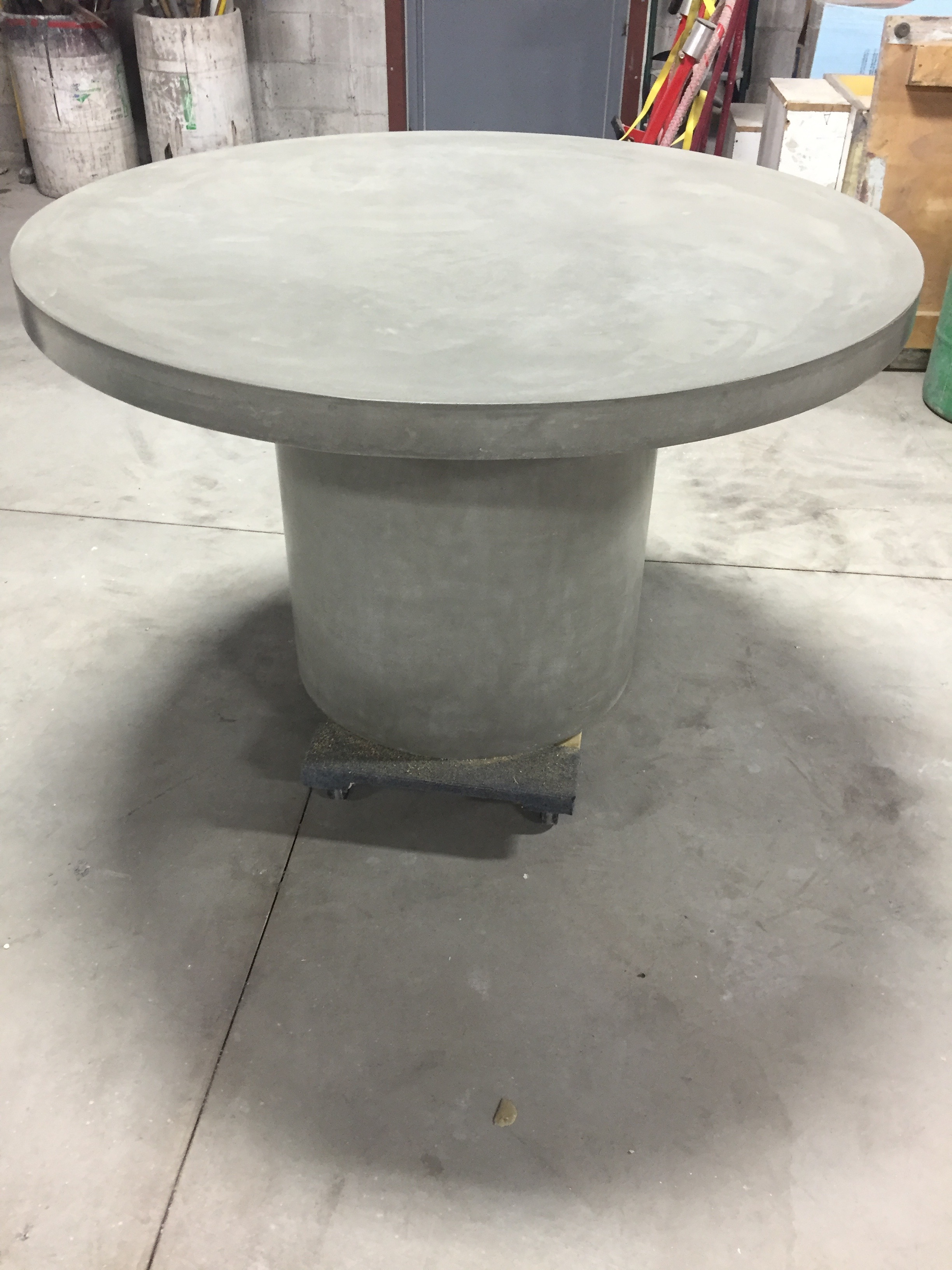 "50"" Round  Concrete Table"