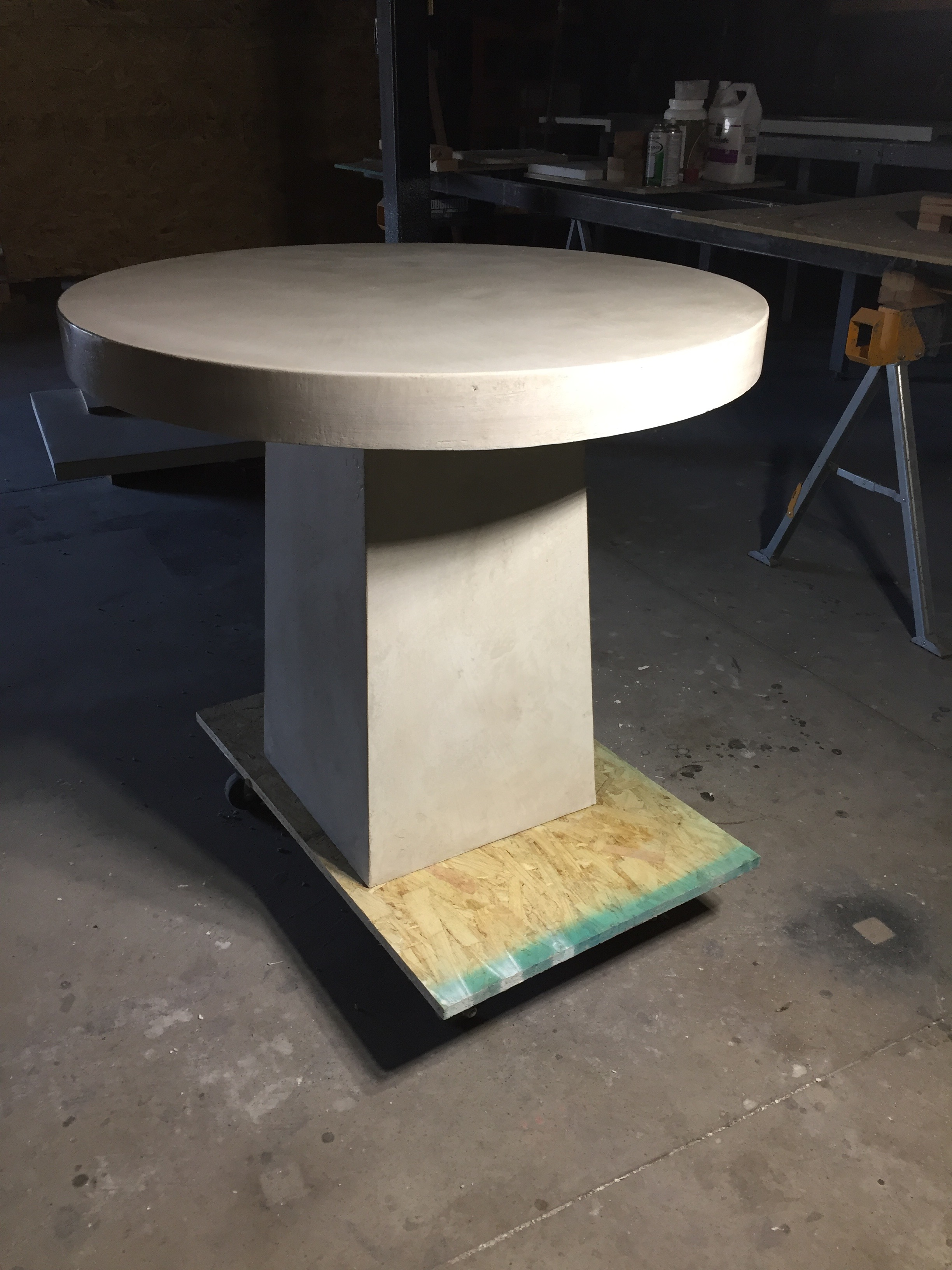 Hand Plastered Table