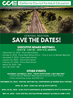 Click to download upcoming Central Section events flier