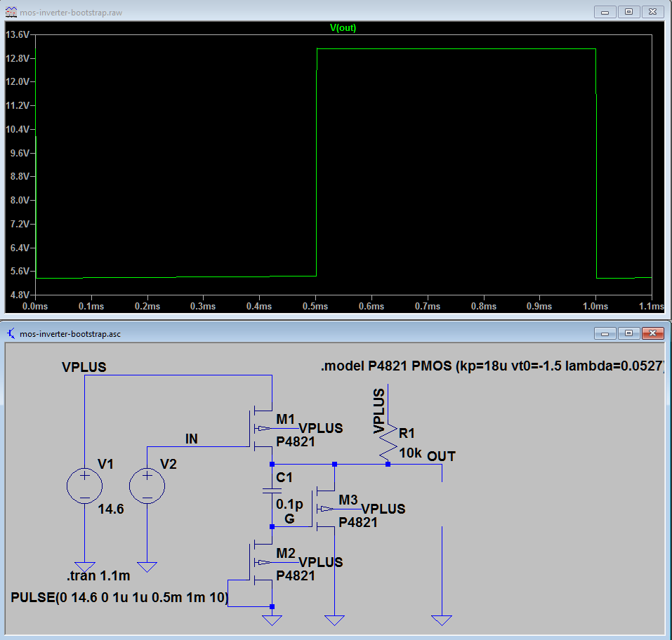 Unisonic 21: Another driver circuit, more simulations in