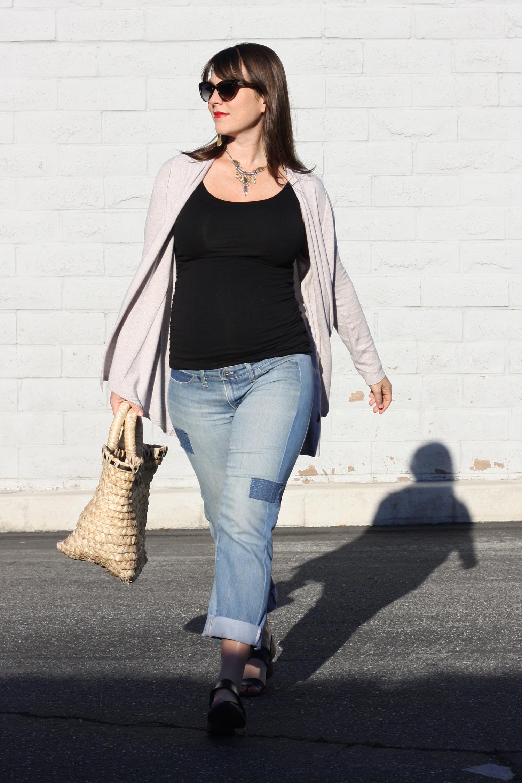 Refashioners 2016 Diy Maternity Jeans Birds Of A Thread