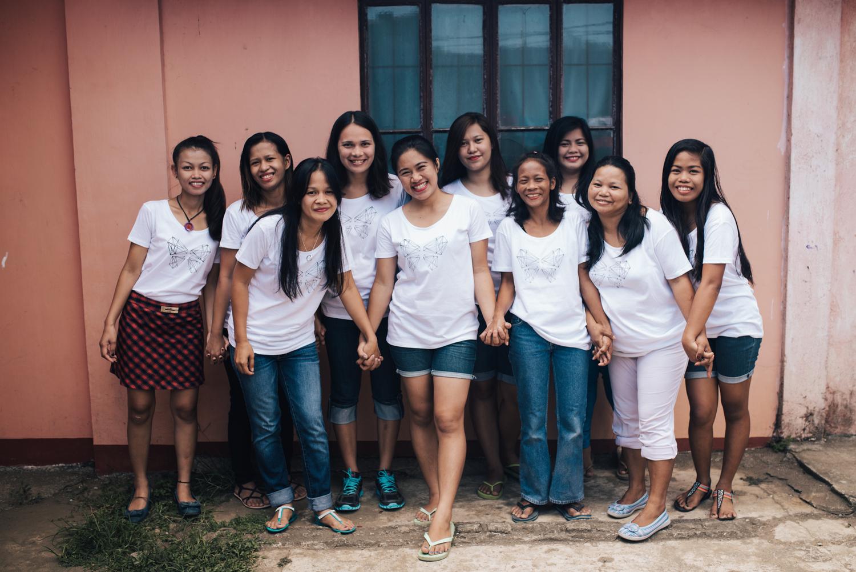 The women of A Beautiful Refuge.