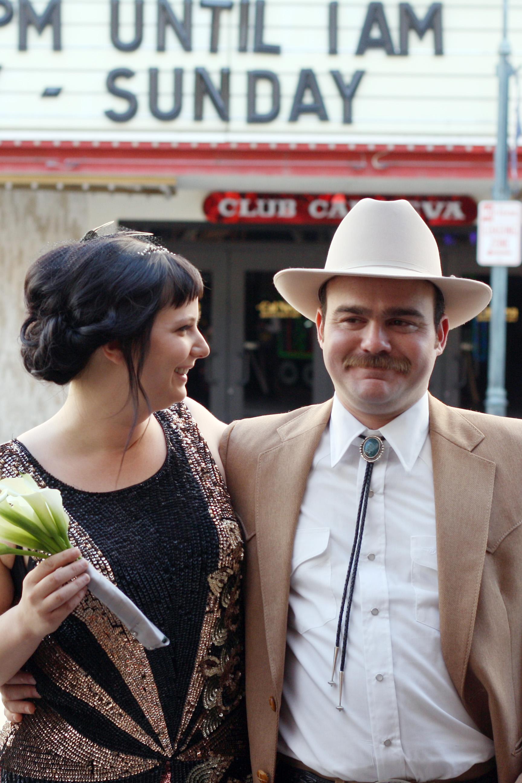 Vintage Wedding Dress, Flapper Style | Birds of a Thread