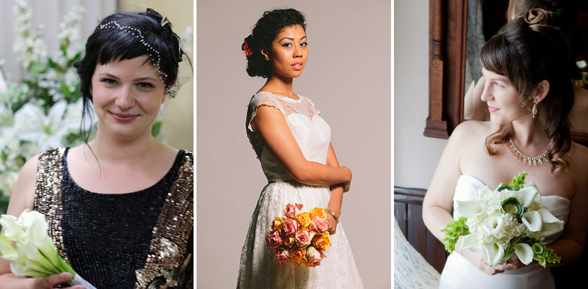 Ethical Wedding Dress Ideas - Vintage, Fair Trade, Made in USA | Birds of a Thread