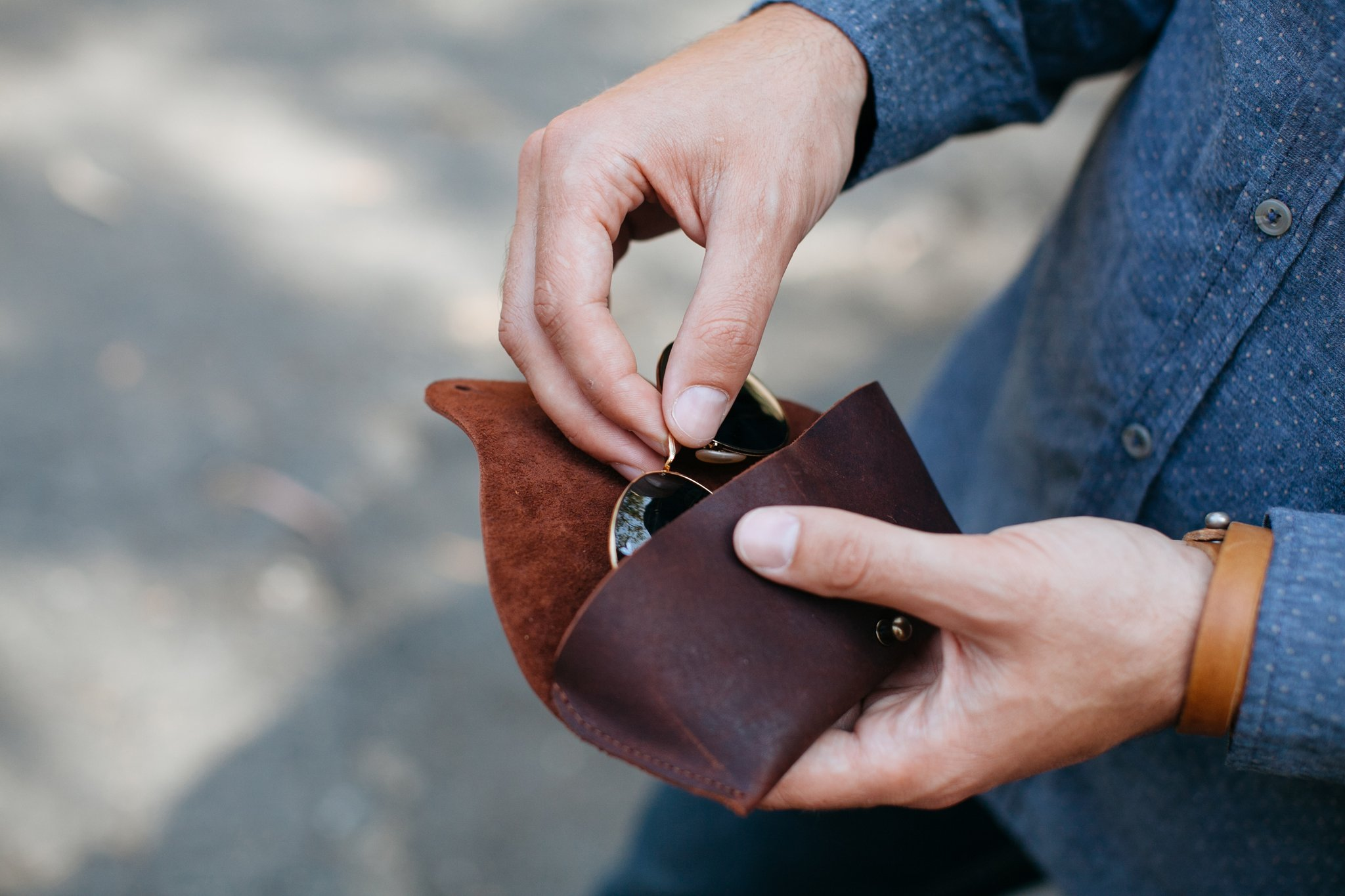 Brands that Give Back - Ethical leather accessories