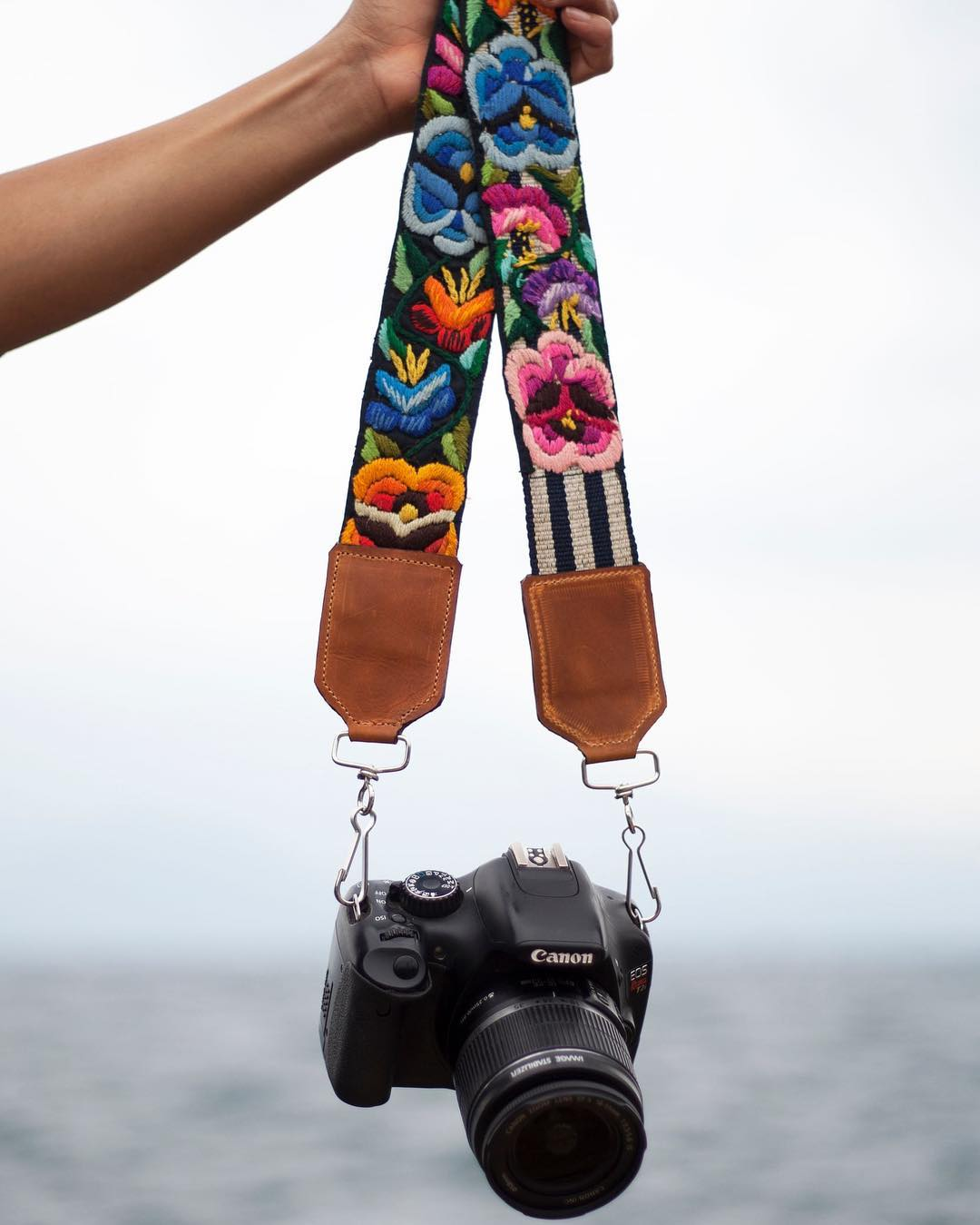Ethical, handmade camera bag strap from Guatemala - Hiptipico