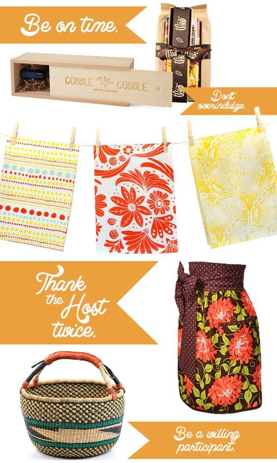 Fair Trade Handmade Thanksgiving Hostess Gifts