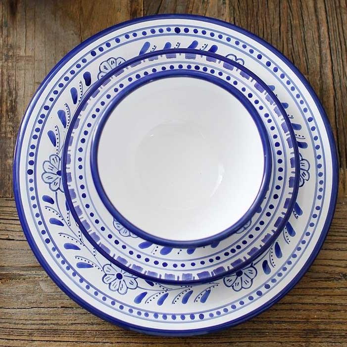 The Little Market Floral Dinner Plate