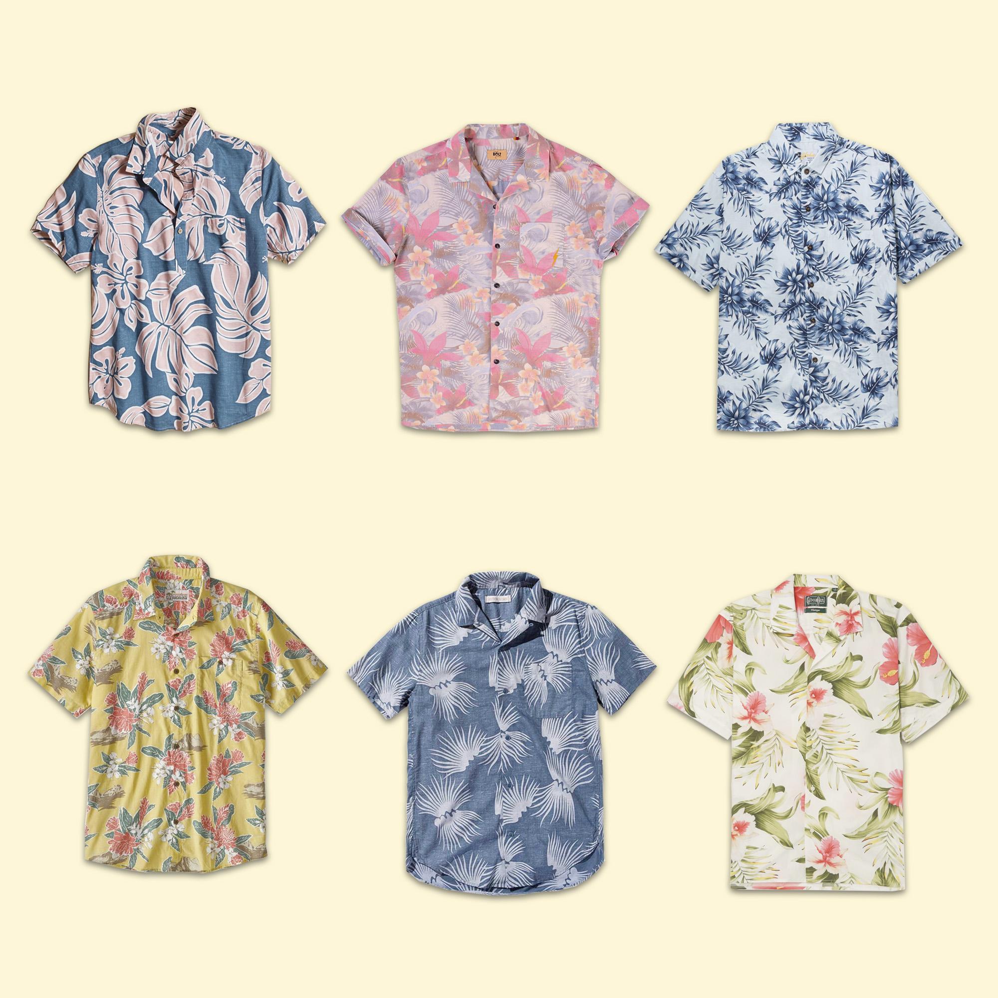 Hawaiian Mens Shirts Yellow.jpg