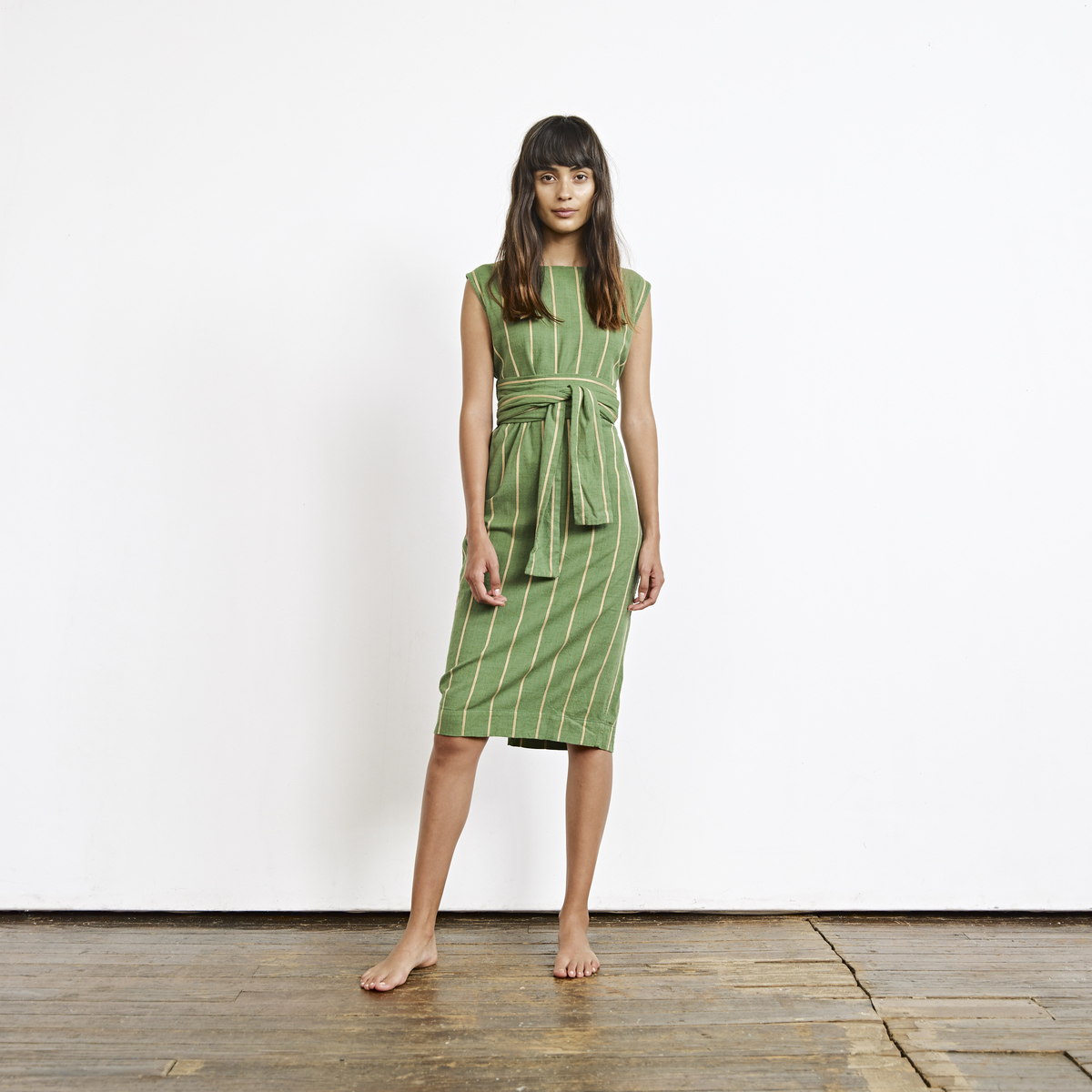 Ace & Jig Evelyn Dress - Another gem from Ace & Jig, in a lovely shade of succulent.