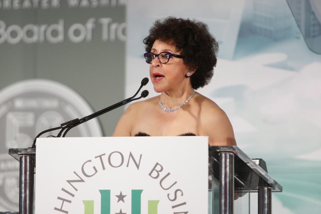 2015 Washington Business Hall of Fame Laureate Sheila Johnson