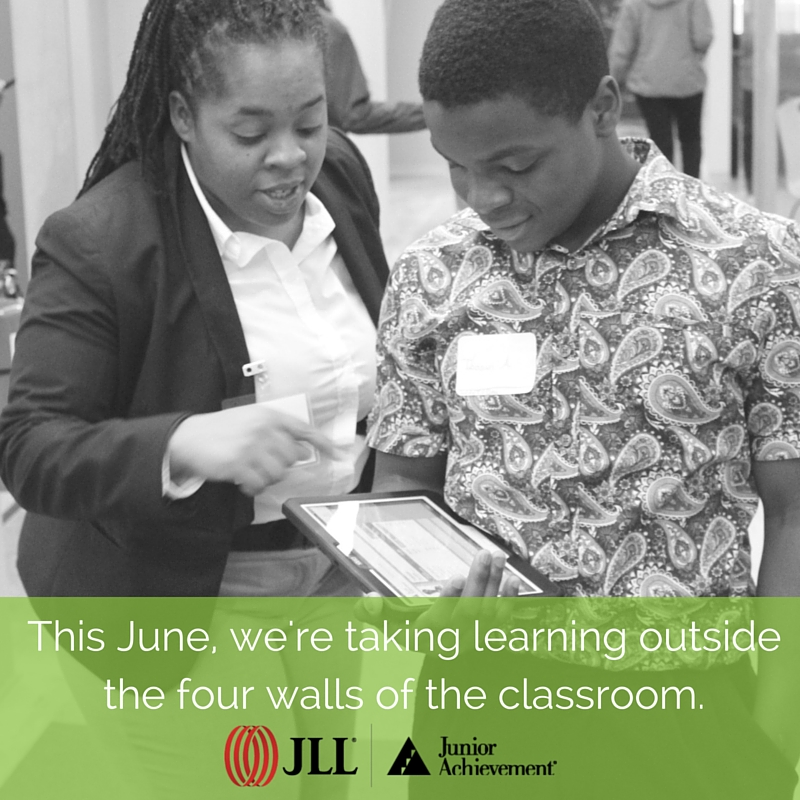 This June, Junior Achievement of Greater Washington and @JLL are embarking on an ambitious journey to change that. JLL will raise dollars to support JA's innovative financial literacy, work readiness, and entrepreneurship programs like JA Finance Park®, the JA Job Shadow™, and the in-classroom programs that impact over 63,000 of our region's youth every year. Together, we believe that we can revolutionize education to make it more relevant, more meaningful, and more inspiring so we can give kids the vision to see what's possible and the skills to achieve their dreams. Learn more at www.myJA.org.
