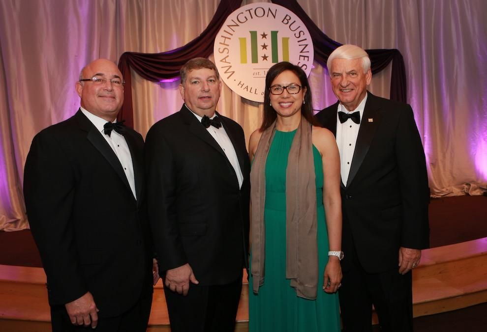 The 2016 Laureates (left to right): Kenneth A. Samet, Gary H. Tabach, Diane Hoskins, and O.M. (Tony) Nicely.