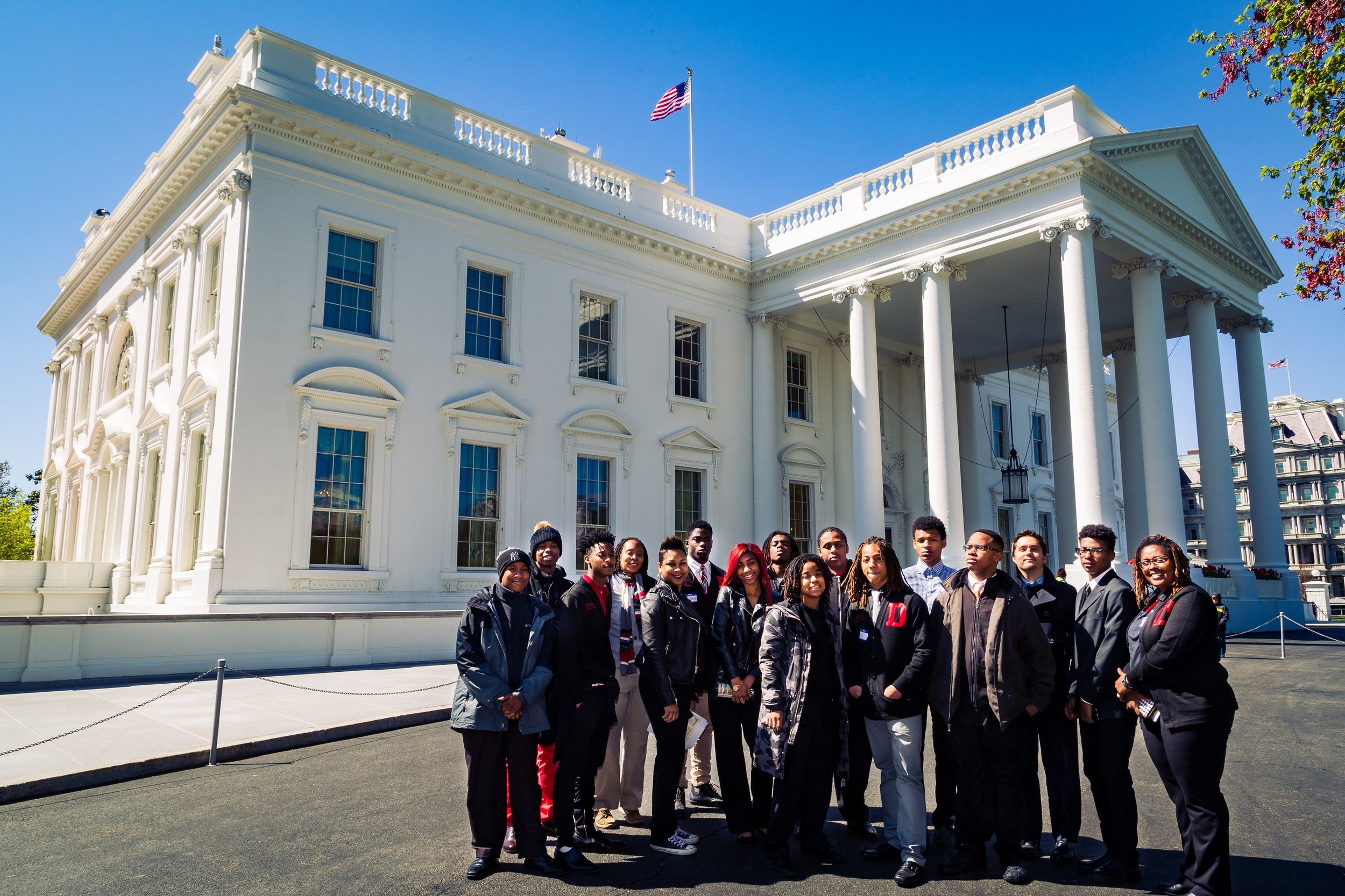 Click the photo to read about the Federal IT Job Shadow at the White House last year.