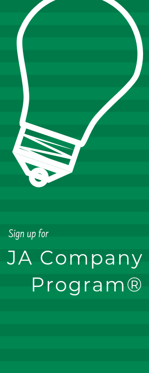 Do you want to learn what it takes to be an entrepreneur? The JA Company Program is an intensive program that offers high school students the chance to put their ideas into action by launching and operating a startup with other students under the guidance of business professionals.