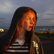 Portrait at sunset.