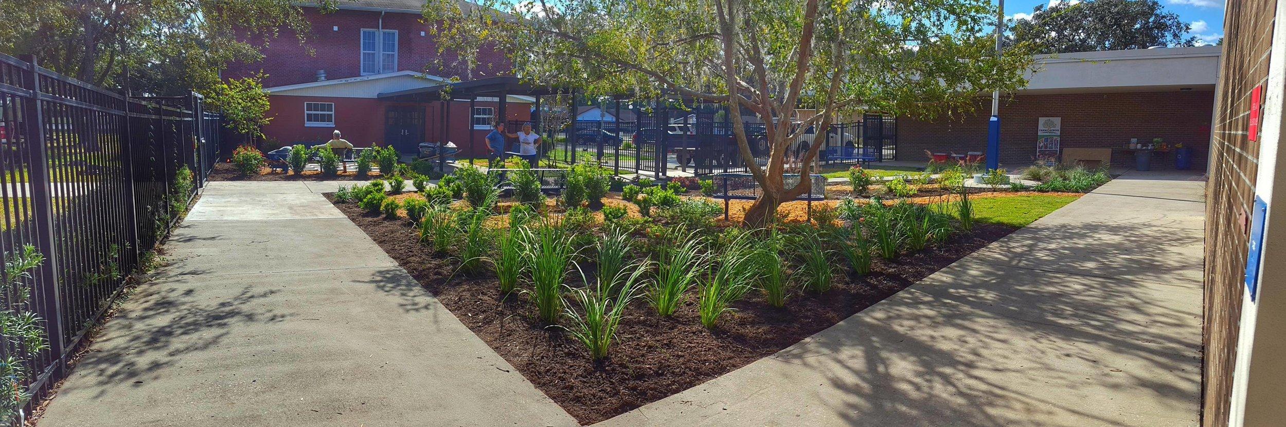 Cork Elementary Reading Garden, Installed November 2017
