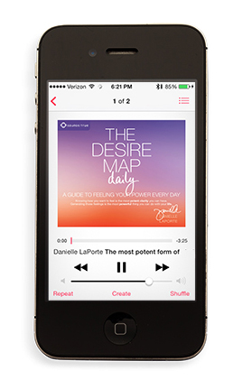 The Desire Map Daily: A Guide to Feeling Your Power Everyday MP3 - $15.00