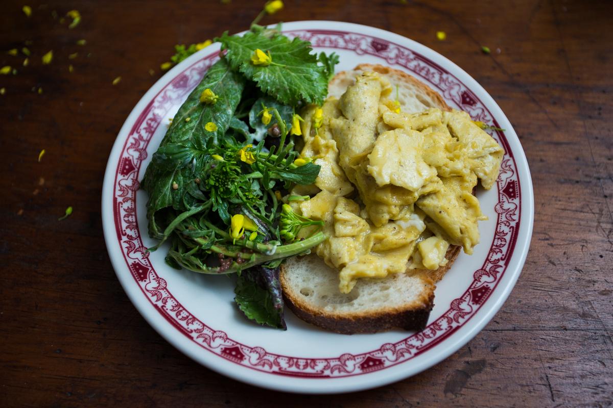 Scrambled Eggs  by Donny Tsang