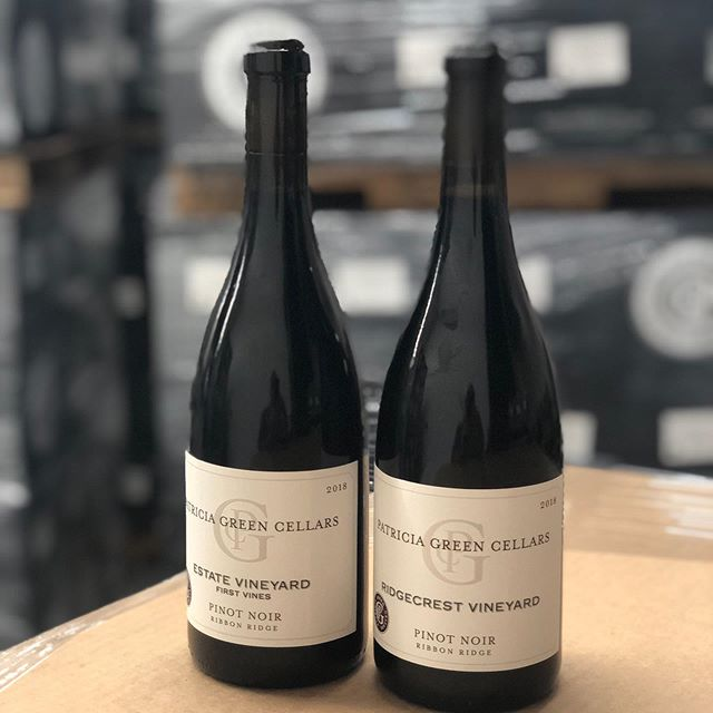 Just bottled the two oldest blocks of Pinot Noir in the Ribbon Ridge AVA. 1982 planting at Ridgecrest and the 1984 block on our Estate Vineyard. Just 70 cases of each one of these 2018 Pinot Noirs but nonetheless happy to have them! #ribbonridge