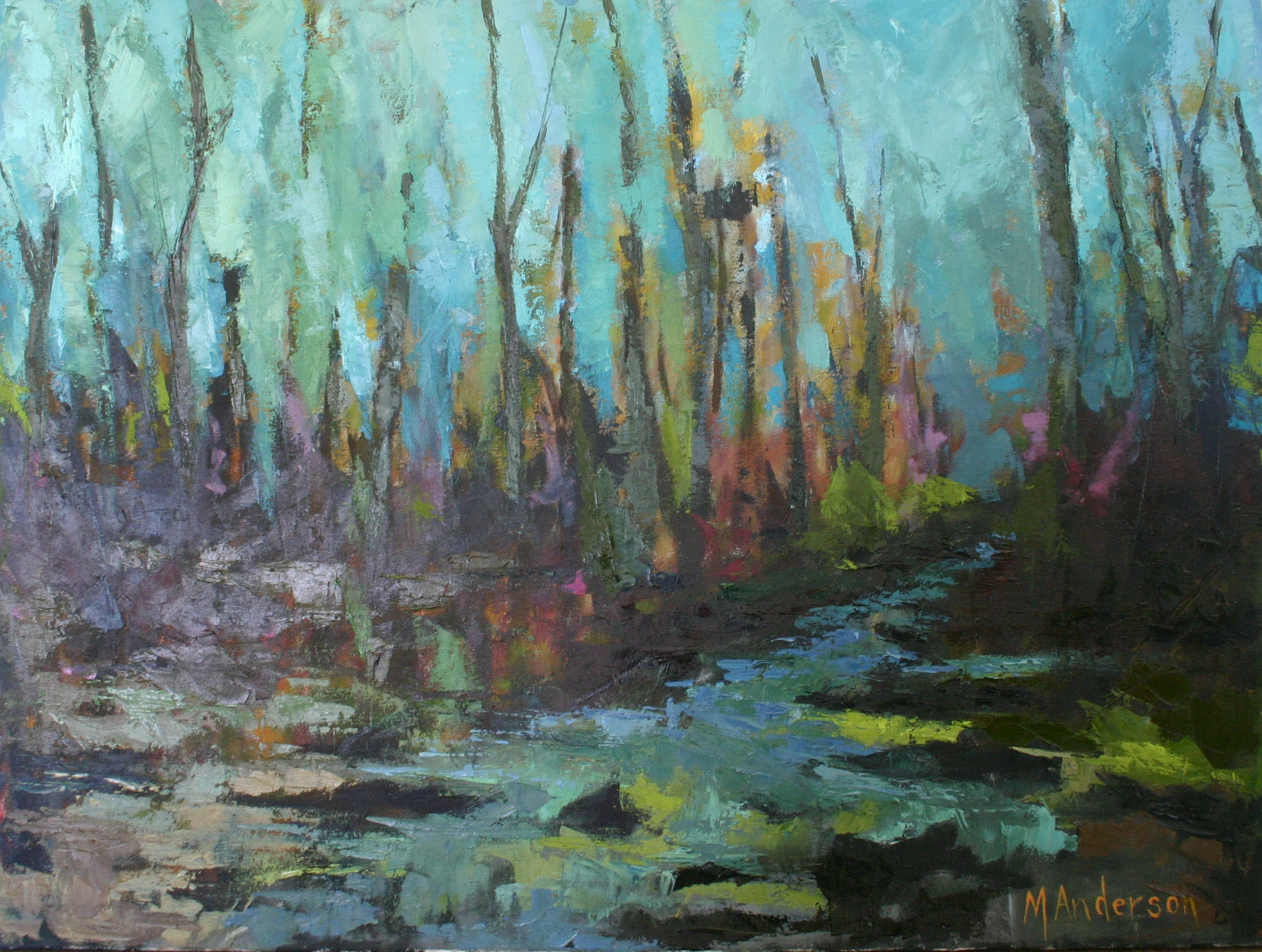Black River (30x40 Canvas) - Sold