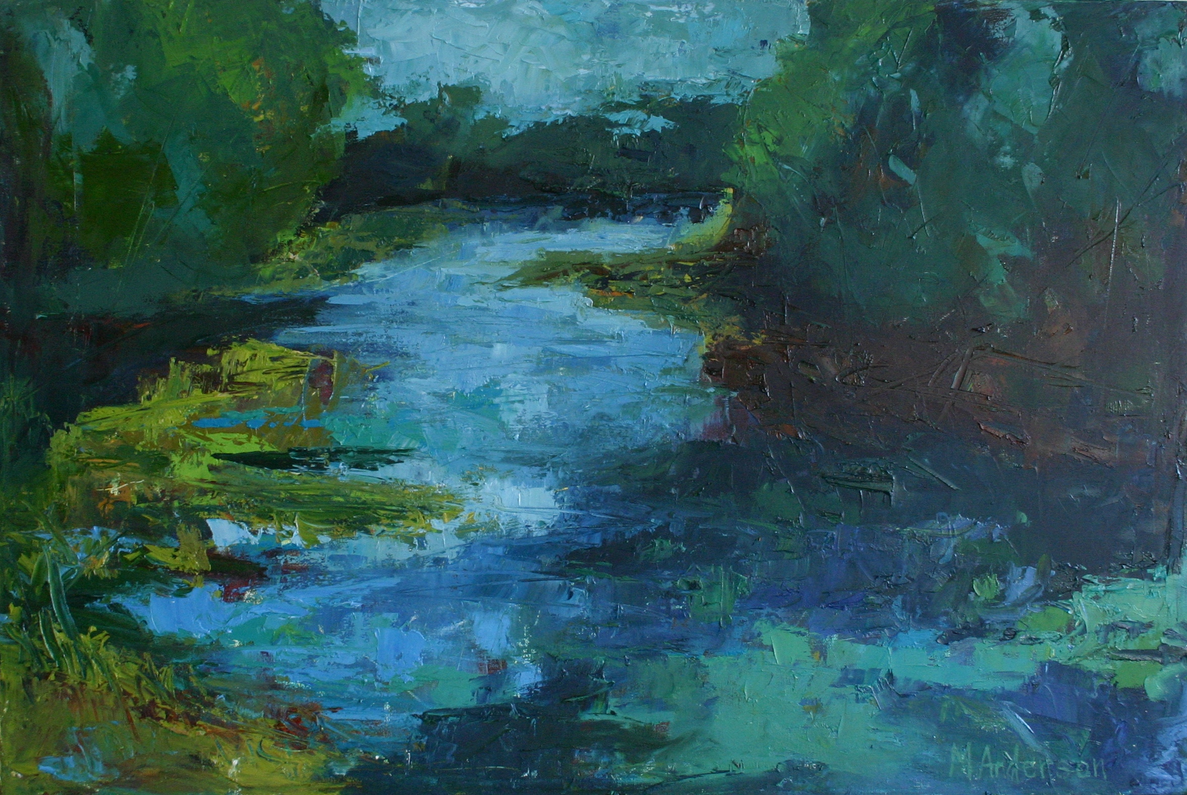 Black River (20x30 Canvas) - Sold
