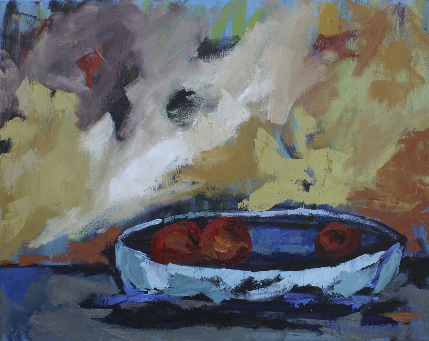 Fruit Bowl (24x30 Canvas) - Sold
